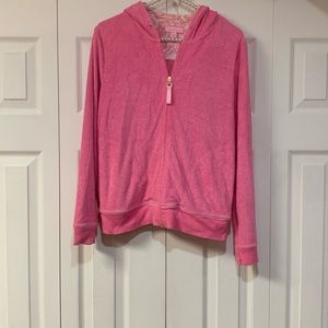 Lilly Pulitzer pink jacket size small women
